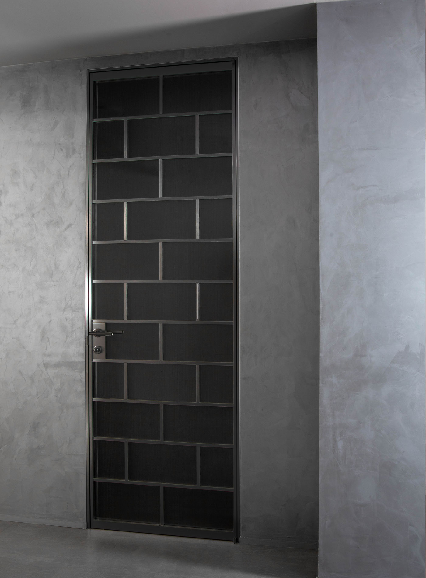 Planus Quattro Lacunaria Black finishing